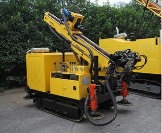 Small Size Anchor Drilling Rig , Drilling Rig Machine Good Disassembility Separate Group Design
