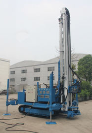 7000 MM Stroke Anchor Drilling Rig Machine 25 T Pull Capacity 1.5 Ton Winch