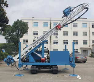 Durable Fully Hydraulic Water Well Drilling Equipment 7m Stroke Larger Cylinders