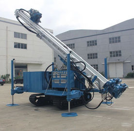 Hydraulic Water Anchor Drilling Rig Machine Long Feeding Stroke 25T Pull Capacity